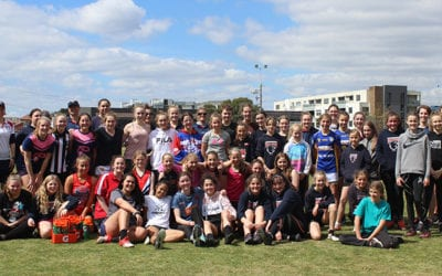 Falcons Footy Clinic a huge success