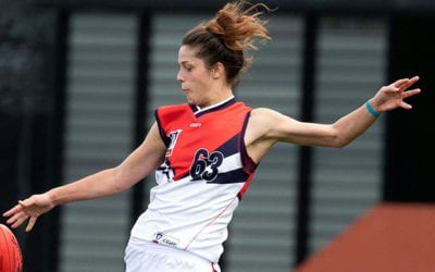Darebin Falcons VFLW Team Sign All-Australian AFLW Star Lauren Pearce