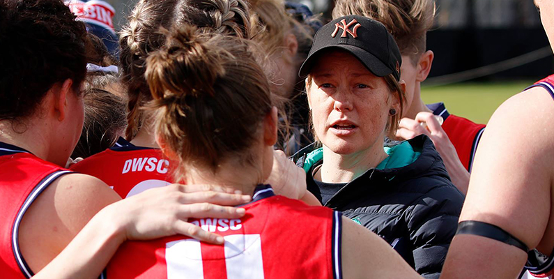 Jane Lange steps down as coach
