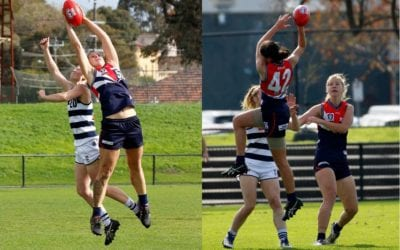 Morris-Dalton and Sansonetti fly against the cats in their debut with the Falcons.