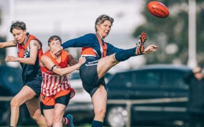 Falcon's AFL Masters Team to Compete in Pride Round