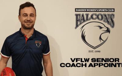 Darebin VFLW Senior Coach Appointed for 2020